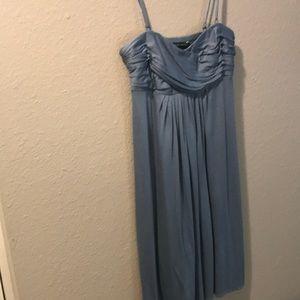 Banana Republic Sleeveless Blue Dress